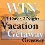vacation getaway giveaway