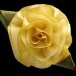 silk rose flower