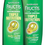 Garnier Triple Nutrition free sample