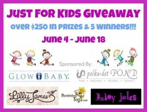 just for kids giveaway