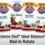 hills science diet ideal balance rebate