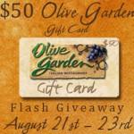Olive Garden Gift Card Giveaway