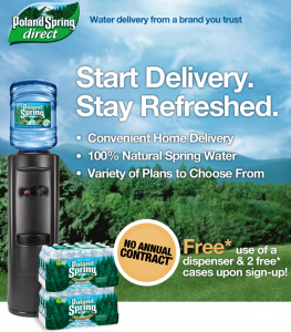 Poland Spring Direct Home Delivery Service Review