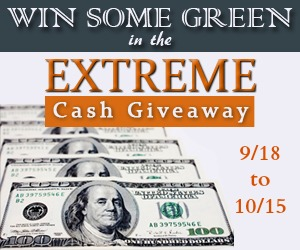 september extreme cash giveaway