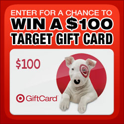 Enter for a Chance to Win One of Four $100 Target Gift Cards