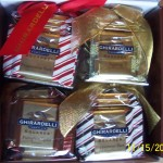 Ghiradelli Christmas Chocolates