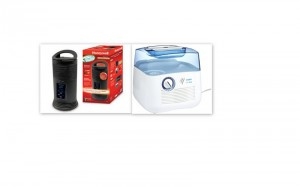 Vicks Humidifier and Honeywell Heater Giveaway