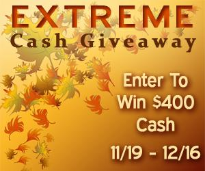 november extreme cash giveaway