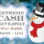 december extreme cash giveaway