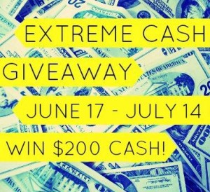 June Extreme Cash Giveaway