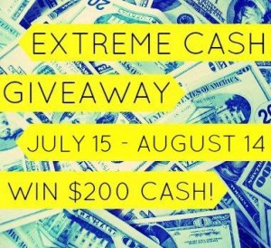 july extreme cash giveaway