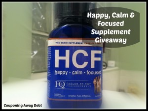 Happy, Calm & Focused Supplement Giveaway