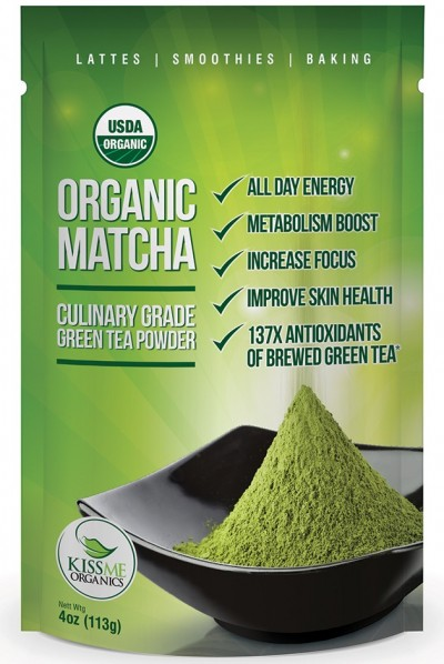Kissme Organics - Organic Matcha Green Tea Powder