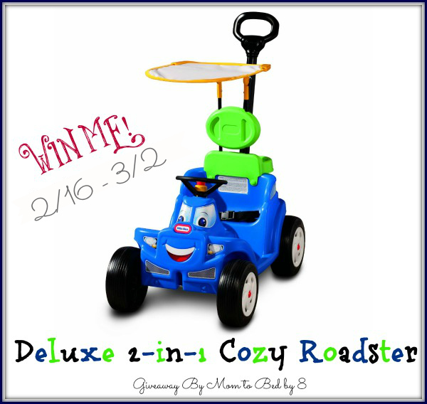 Deluxe 2-in-1 Cozy Roadster