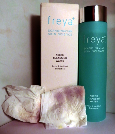 freya arctic cleansing water review