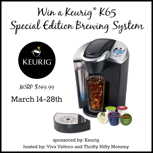 Keurig K65 Special Edition Brewer Giveaway