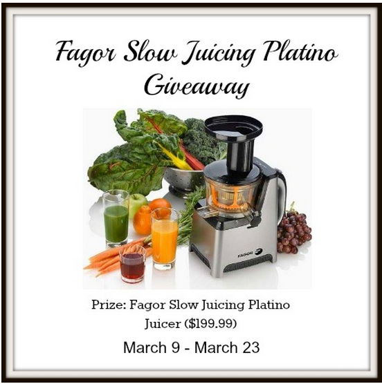 Slow Juicing Platino Juicer