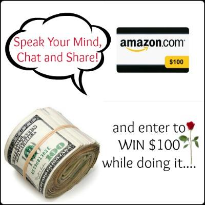 Let's talk money giveaway