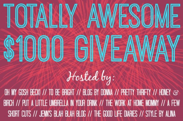 Totally Awesome July Giveaway