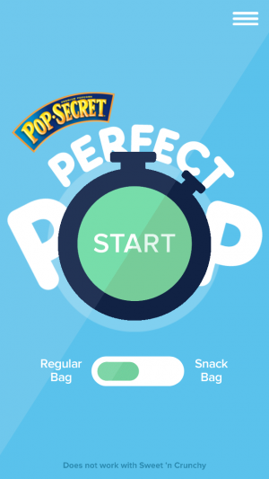 pop secret perfect pop app