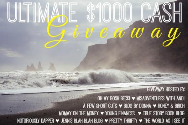 Ultimate Cash Giveaway sept