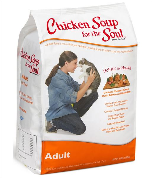 chicken soup for the soul dry cat food