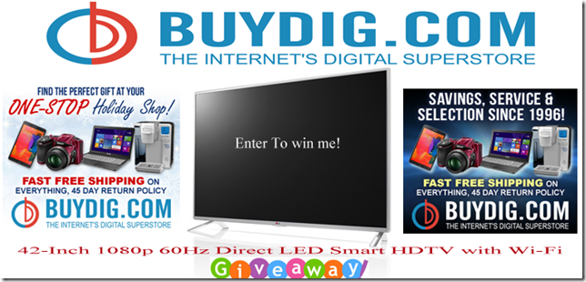 buydig LED Smart HDTV