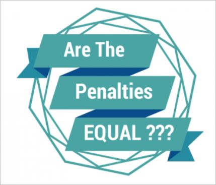 Are The Penalities equal