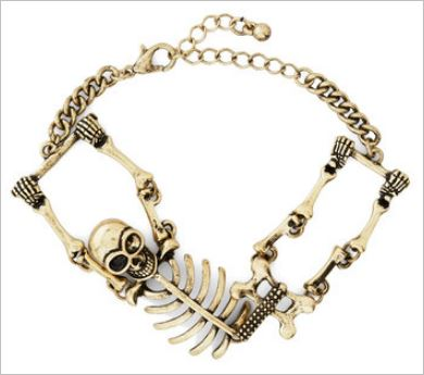skull bracelet 2014 ModCloth Holiday Gift Guide
