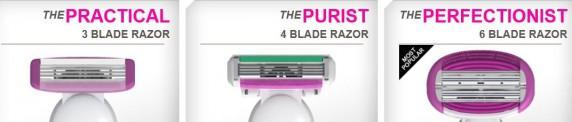 womens blades