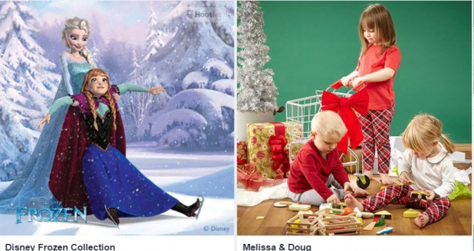 zulily frozen Melissa and Doug deals