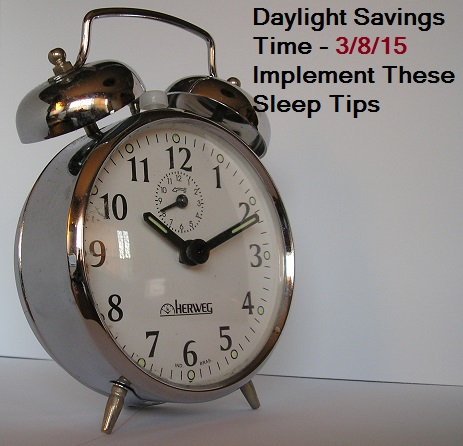 daylight savings time sleep number tips