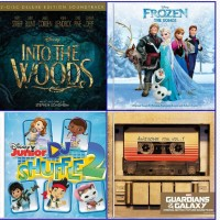 Hop to the Music Review & Giveaway - 4 Disney Soundtrack CDs #disneymusic
