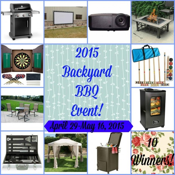 2015 backyard bbq event