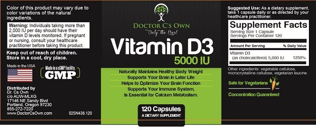 Doctor C's Own Vitamin D3