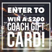 $200 Coach Gift Card Giveaway
