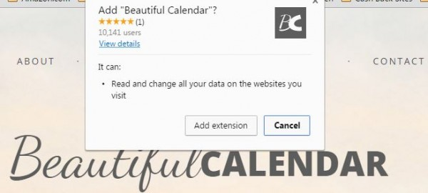 beautiful calendar chrome extension