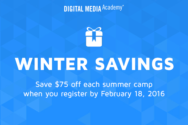 digital media academy savings