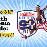 Harlem Globetrotters 2016 North American Tour Dates - Save 25%