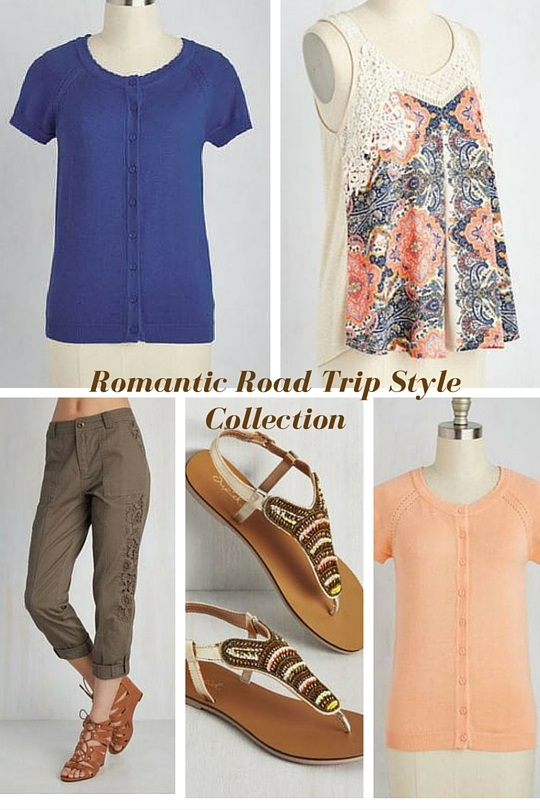 Modcloth Romantic Road Trip Style Collection