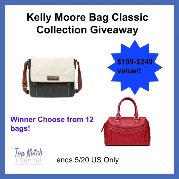 Kelly Moore bag classic collection giveaway