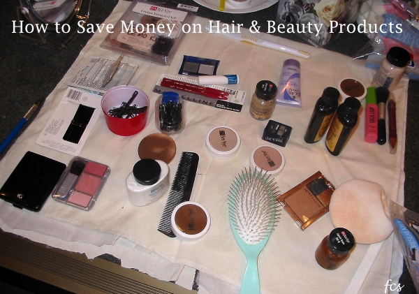 free how to save money on hair beauty products