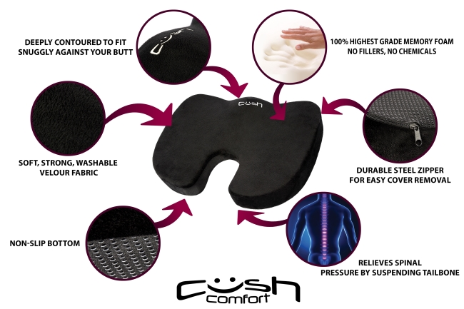 cush cushion features