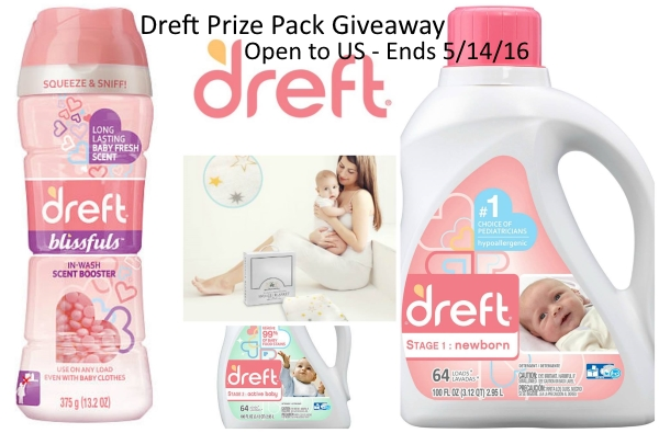 dreft prize pack giveaway