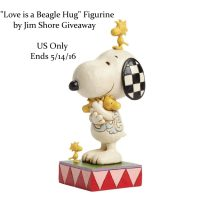 Love is a Beagle Hug Figurine by Jim Shore Giveaway