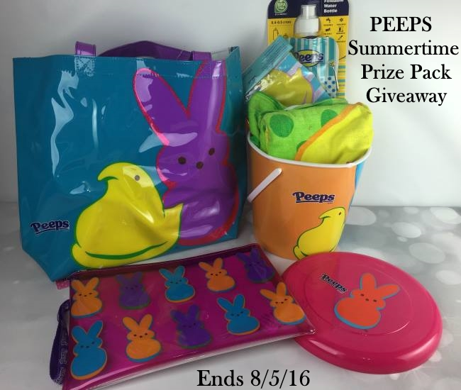 PEEPS® Summertime Prize Pack Giveaway & Promo Code