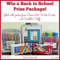 Back to School Prize Package Giveaway - Open to US