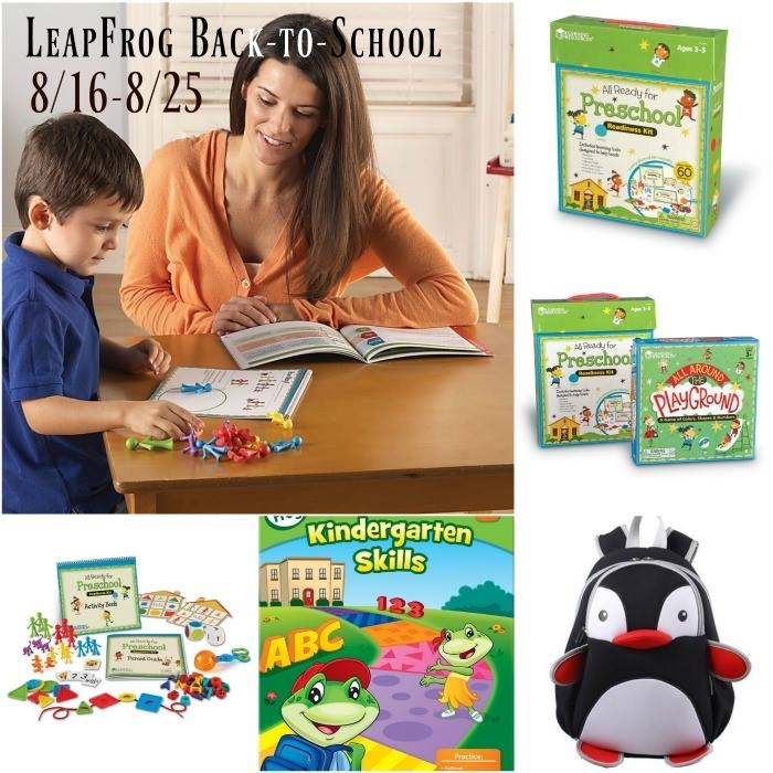 leapfrog back to school giveaway