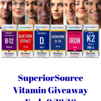 SuperiorSource Vitamin Prize Pack Giveaway
