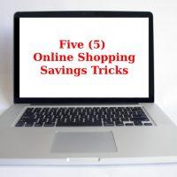 5 Online Shopping Savings Tricks